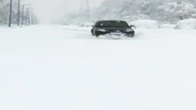 لندمارک مسیر برفی