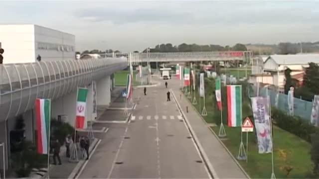 افتتاح نمایشگاه اختصاصی توسعه تجارت ایران در ایتالیا