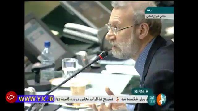 پاسخ کوبنده رییس مجلس به اظهارات جنجالی و حاشیه ساز نماینده مجلس