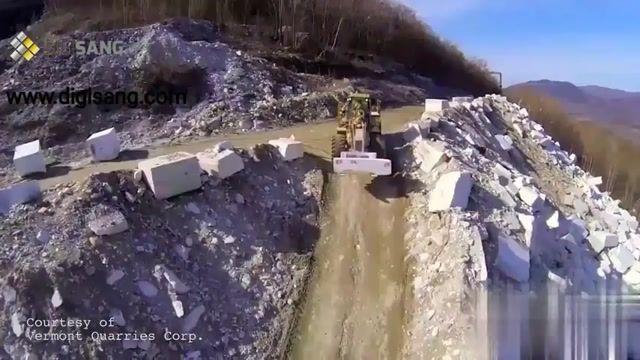 چرخه تولید سنگ ساختمانی