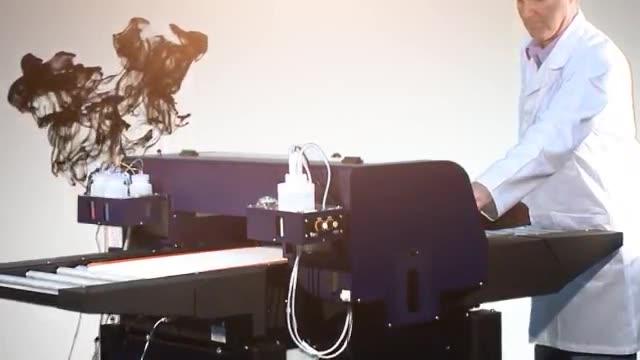 دستگاه چاپ تیشرت با قابلیت چاپ تیشرت مشکی