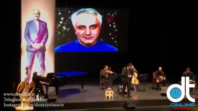 اجرای زنده از تنهایی گریه مکن توسط سالار عقیلی در مراسم چهلم علی معلم / Salar Aghili & Ali Moallem