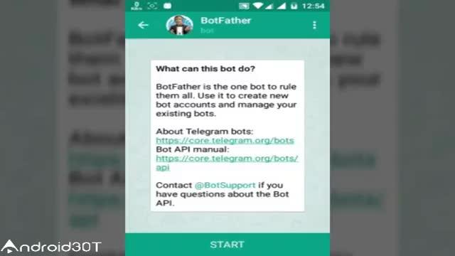 چطوری در تلگرام ربات بسازیم – create telegram bot