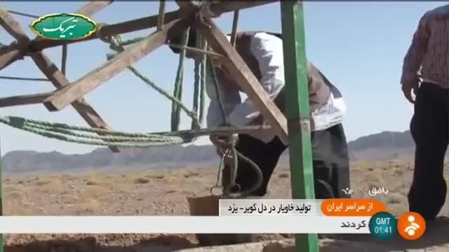 Iran Sturgeon fish farming in desert, Bafq county پرورش ماهیان خاویاری در کویر بافق ایران