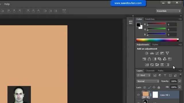 آموزش Photoshop پیشرفته - نقاشی کمیک