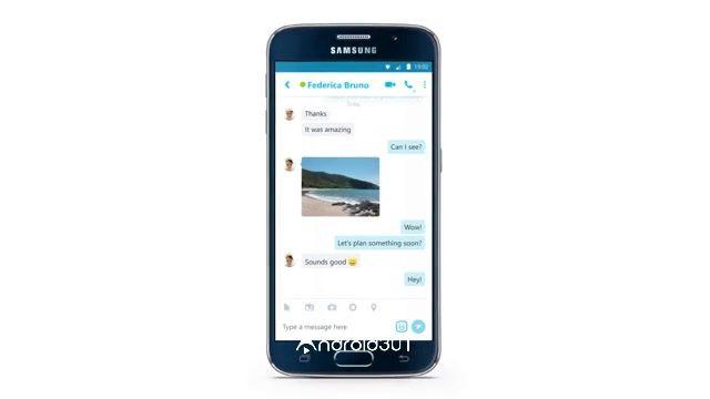 نرم افزار محبوب تماس صوتی و تصویری اسکایپ – Skype – free IM & video calls