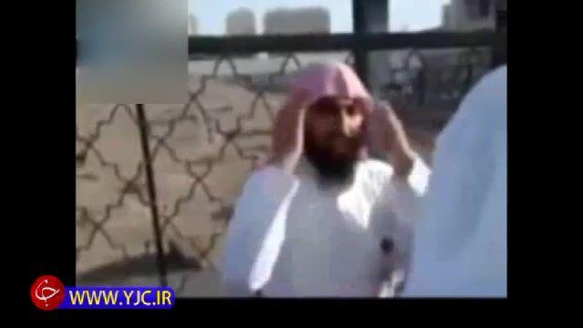 توهین های یک وهابی علیه خانه کعبه در میان زایران ایرانی