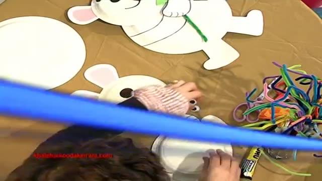 کاردستی برای کودکان - خرس