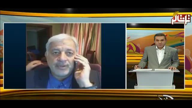 تماشاگر //  گفتگوی تلفنی با مهدوی رییس فدراسیون هندبال قبل از دیدار با قطر (ویدیو)