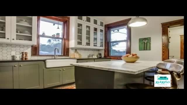 دکوراسیون 50 آشپزخانه کوچک و زیبا