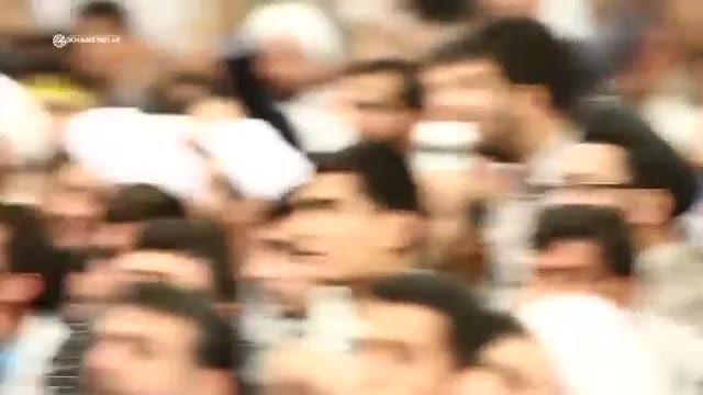 نماهنگی از دیدار اقشار مختلف مردم با رهبر انقلاب به مناسبت عید غدیر 1395/06/30