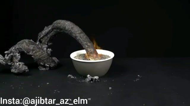 بخش دوم روش تهیه مار آتشین