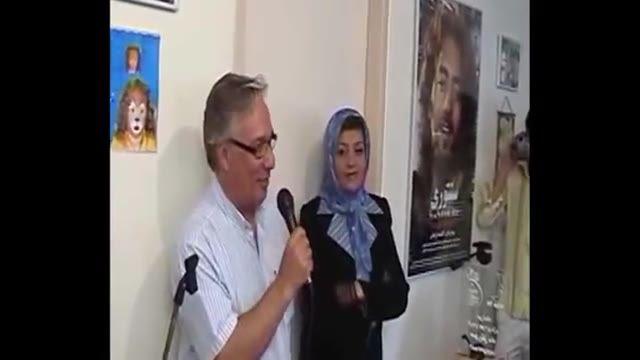 صحبت های جمشید جهانزاده بازیگر سینما تیاتر و تلویزیون در مورد خانم عاقل نژاد و مجتمع صورتگرماه