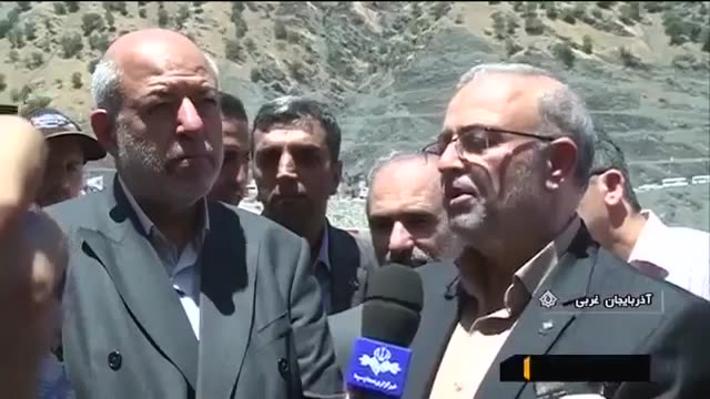 Iran made 150MW Sardasht Hydro Electric Dam, Sardasht county سد برق آبی سردشت ساخت ایران