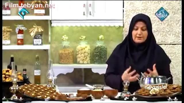 طرز تهیه حلوا با شیره انگور یا خرما ، یکی از دسرهای سنتی خوشمزه ایرانی ( خانم گلاور)