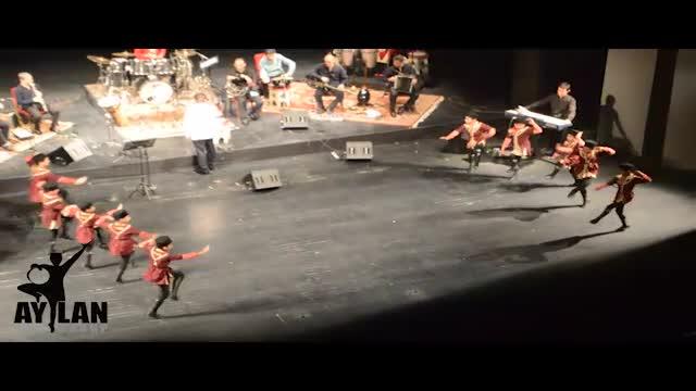 رقص فوق العاده زیبای آذری کودکان در تالار وحدت تهران