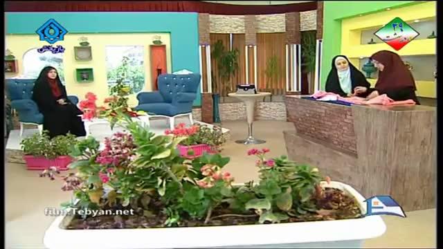 آموزش هنر خیاطی: دوخت لباس کودک توسط خانم جلیلی (آموزش به زبان آذری)