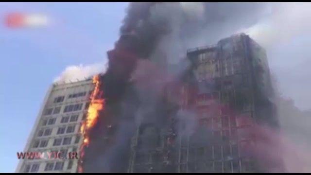 آتش سوزی دوباره در یکی از هتل های مشهد