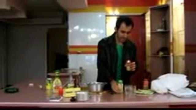آشپزی همراه با علی آقا (طرز تهیه ذرت مکزیکی)