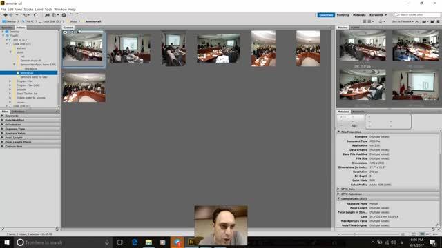 5- قسمت پنجم آموزش Adobe bridge توسط سعید طوفانی