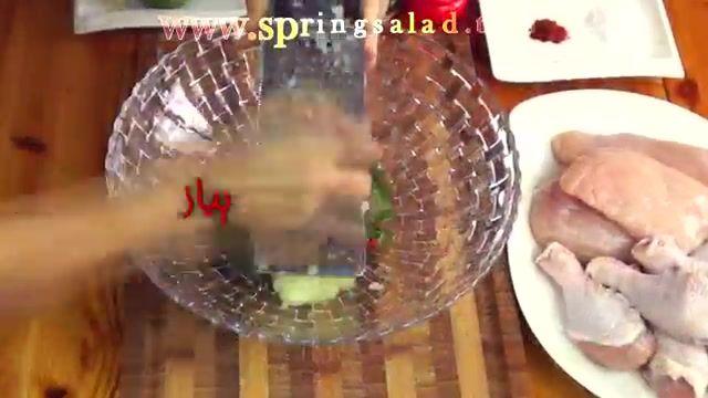 جوجه کباب - روش کبابی و پرمزه کردن جوجه کباب | Marinate Grilled Chicken Skewers