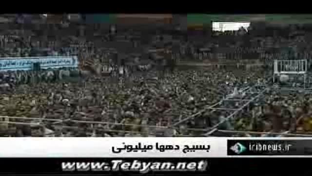 سومین روز سفر رهبر به کرمانشاه