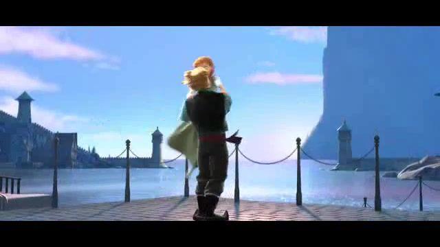 السا و انا ( فروزن ) با آهنگ بودنت یه معجزست / خیلی خوشگله من از دیدنش سیر نمیشم