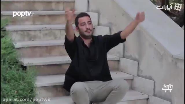 ژست های جالب نوید محمدزاده در جشن منتقدین!