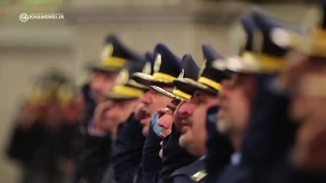 نماهنگی از دیدار فرماندهان و کارکنان نیروی هوایی ارتش 1395/11/19