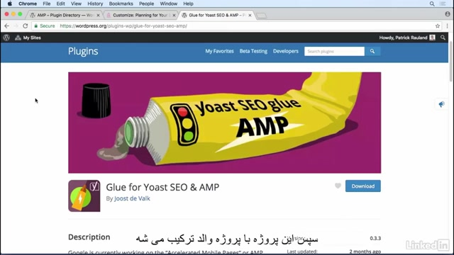 #28 نصب افزونه AMP در وردپرس و همگام سازی با یواست