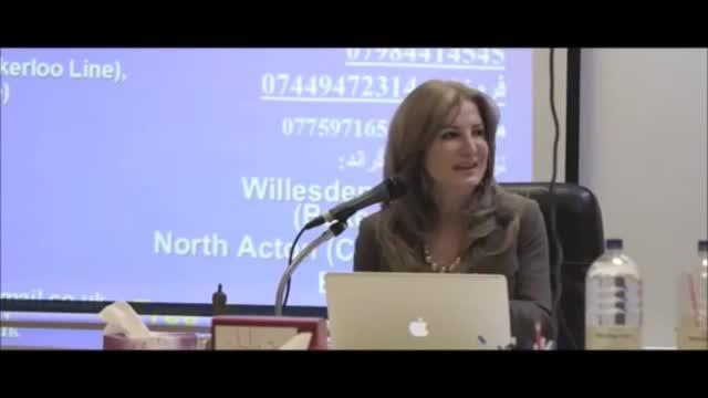 Dr. Mitra Babak, London Seminar, OCD دکتر میترا بابک، کمال پرستی و وسواس و راه درمان