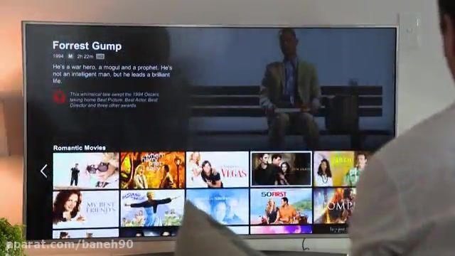 تلویزیون 55 اینچ UH770t الجی