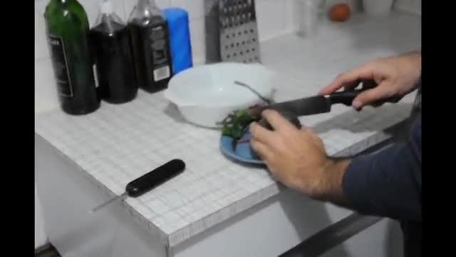 How To Make Beetroot Salad - آموزش درست کردن سالاد لبو