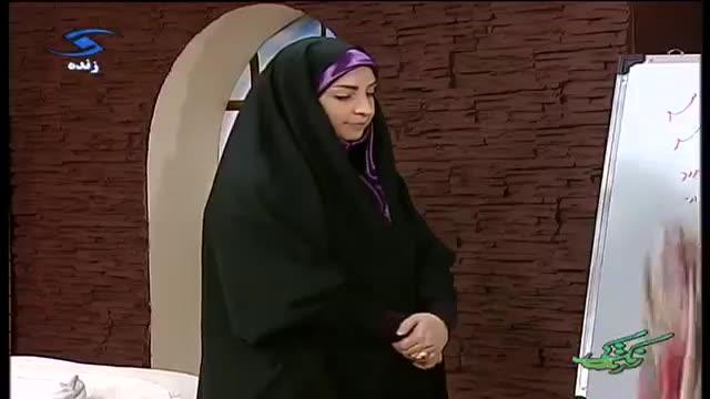 Amozesh dokht chador دوخت چادر ساده