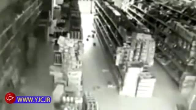 فیلمی از لحظه وقوع زمین لرزه مهیب در چین