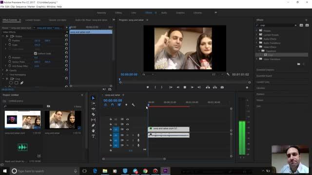 94- ساخت Sync صدا در Adobe premiere - آموزش پریمیر سعید طوفانی