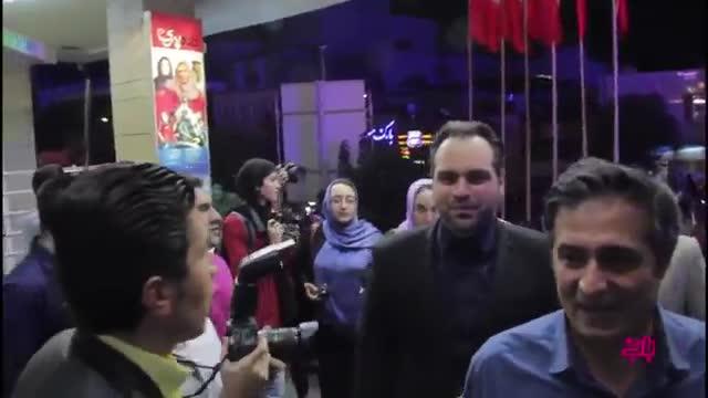 اکران عمومی فیلم ناردون با حضور سیروس گرجستانی، مهران رجبی و شهرام قایدی