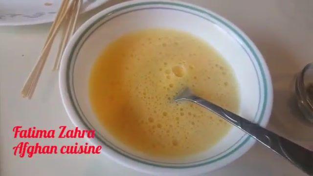 طرز تهیه ابریشم کباب