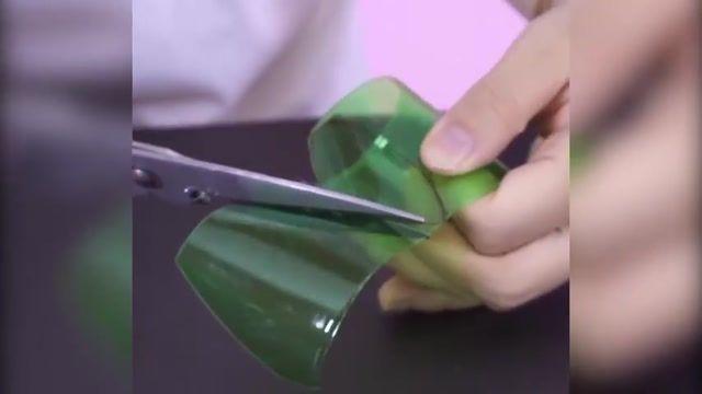 آموزش درست کردن وسایل کاربردی با بطری های پلاستیکی بلااستفاده در خانه