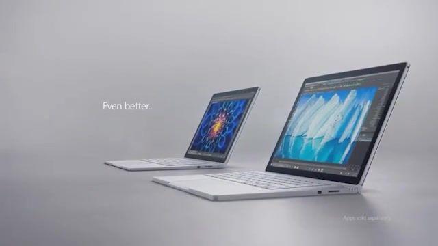 معرفی رسمی سرفیس بوک  Surface Book i7