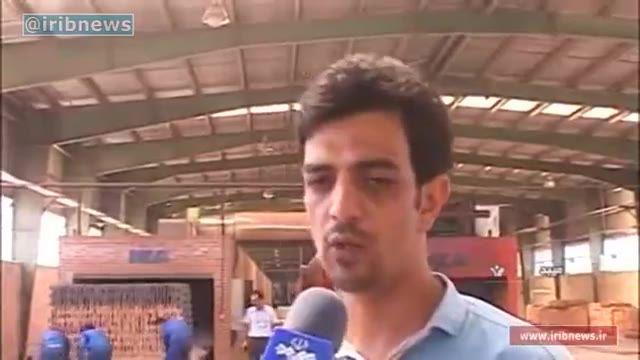 تولید آجر ایرانی با فناوری کوره های تونلی