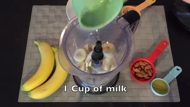 How to make Banana Smoothie [طرز و تهیه جوس کیله ]
