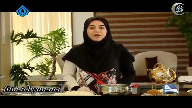 آموزش تهیه پیاز داغ  تزیینی با حضور خانم موسوی (آموزش به زبان آذری)