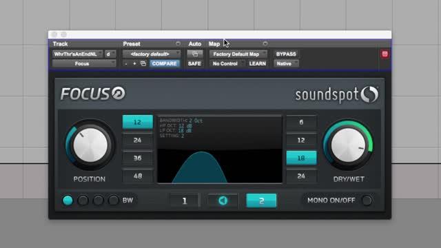 دانلود پلاگین شفاف کردن صدا در مسترینگ Soundspot focus VST
