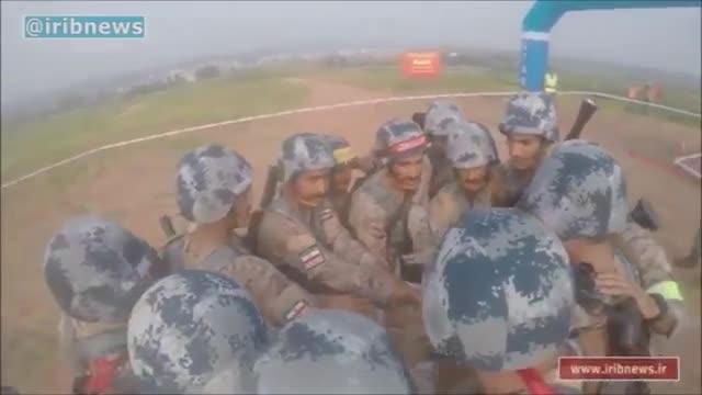 Iran IRGC Forces international Army Games 2017 in China ایران در مسابقات ارتش های جهان چین