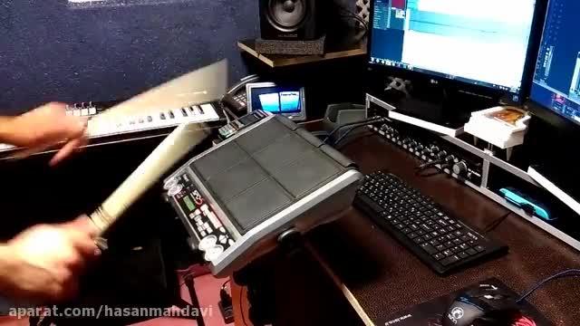 ریتم پرکاشن Spds سمپل ساز Tom برای ساخت موزیک حماسی