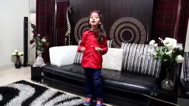 هنرنمایی دختر خوشگل ایرانی با آهنگ مهشتی