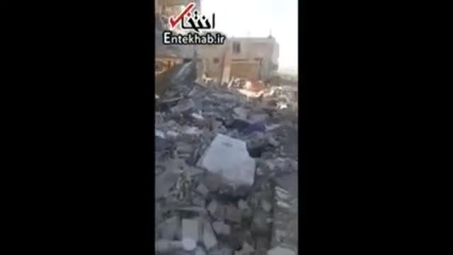 فیلم/ وضعیت ساختمان های مسکن مهر که در زلزله سرپل ذهاب