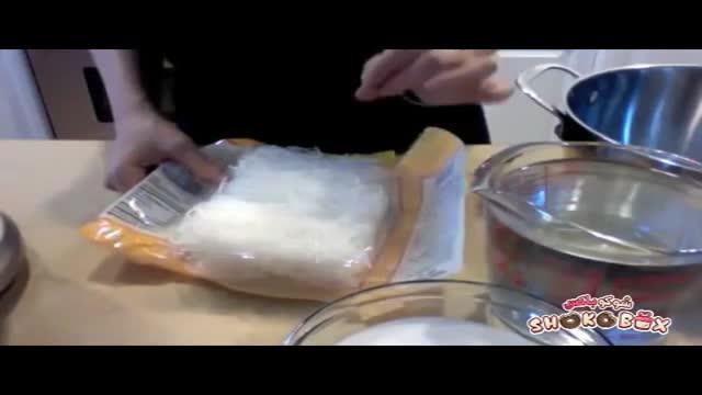 طرز تهیه فالوده شیرازی