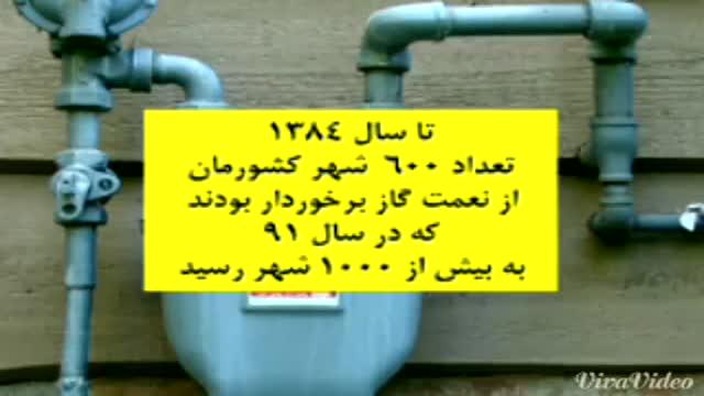 خدمات و دستاوردهای دولت دکتر احمدی نژاد (بخش 6)